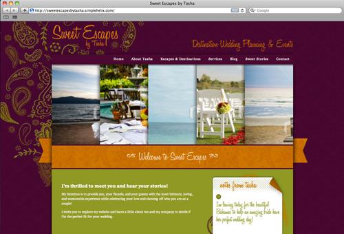 Sweet Escapes Destination Weddings