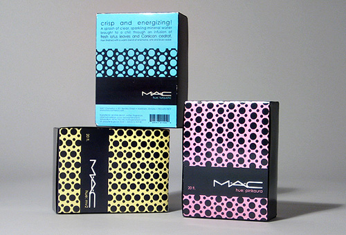 MAC Cosmetics Product Packaging