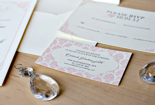 Field/Walk Wedding Invitation