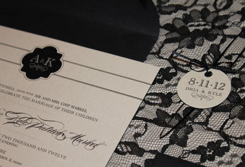 Mitchell/Markel Wedding Invitation