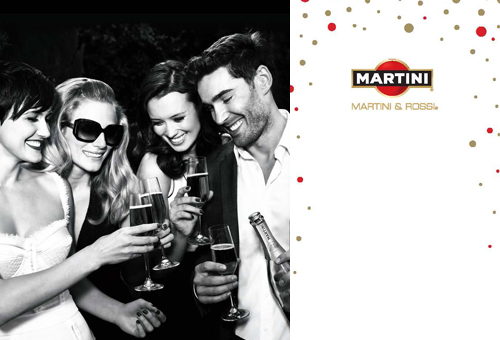 Martini Promotional Recipe Book
