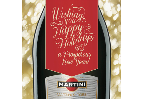Martini Holiday Cards