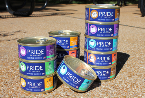Nature's Variety PRIDE Cat Food Packaging